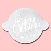 Christmas - Bakery Decorating Stencil - Circle 11